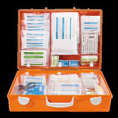 SÖHNGEN Erste-Hilfe-Koffer DIN 13169 MULTI gefüllt orange