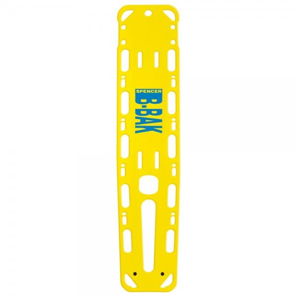 SPENCER Spineboard B-Bak Max mit Pins, gelb