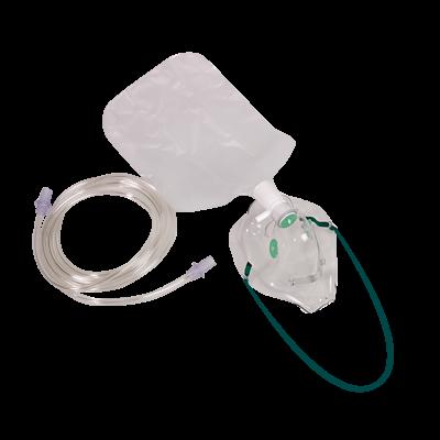 Einmal-Sauerstoff-Maske mit Atembeutel