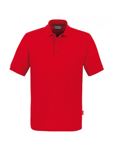 HAKRO 812 Polo-Shirt 200g Brusttasche 50/50%, 60°