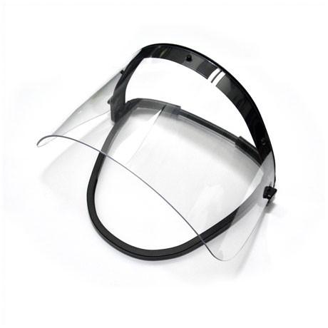 AL-EX Visierscheibe 440 x 145 x 2 mm für FW-Helmhalterung