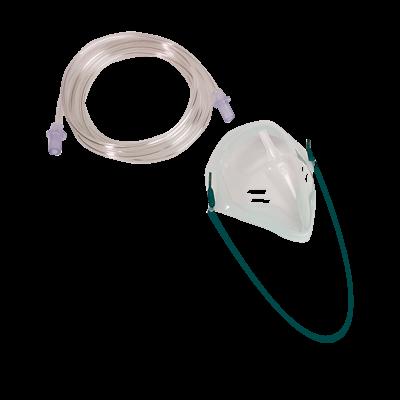 Einmal-Sauerstoff-Maske ohne Atembeutel
