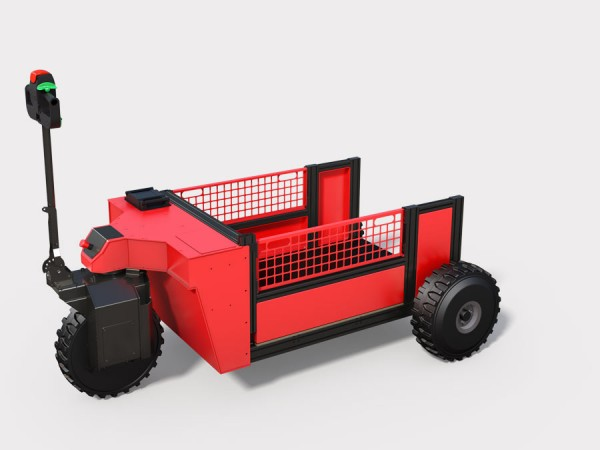 """Elektrisch angetriebener Rollcontainer """"eRC"""""""