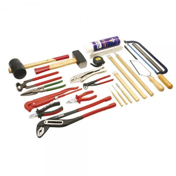 DÖNGES Werkzeugsatz Metall 2 DIN 14800-WKM 2, Werkzeugsatz ohne Kasten