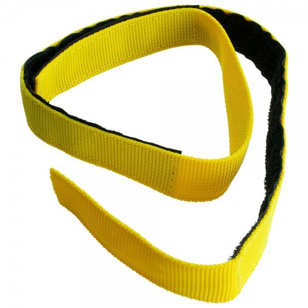 DÖNGES Klettband für Schlauchpaket, gelb, 700 x 25 mm