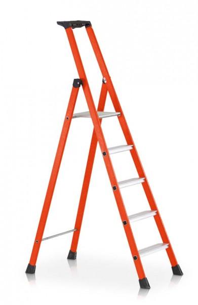 ZARGES Z600 Kunststoff-Stufen-Stehleiter