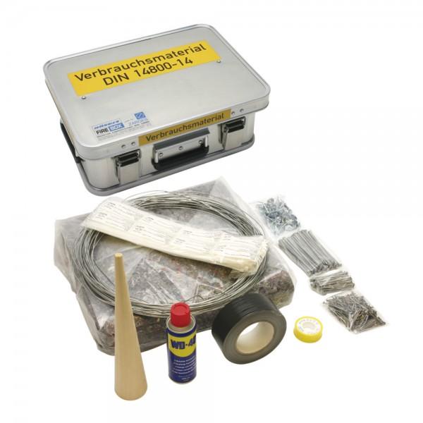 DÖNGES Verbrauchsmaterialkasten DIN 14800-VMK, komplett in Dönges FireBox