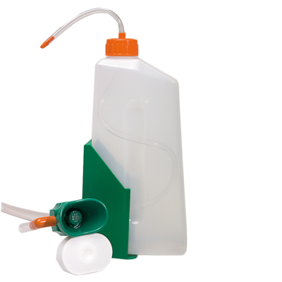Augenspülflasche 800 ml mit Wandhalter