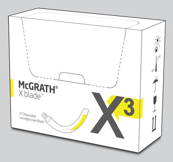 McGRATH X blade X3 Laryngoskop Spatel