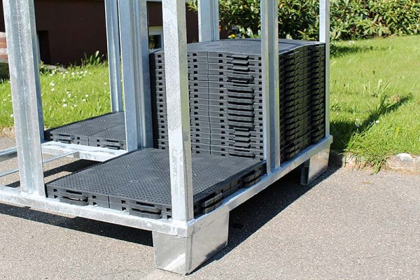Zeltfußboden Systembox