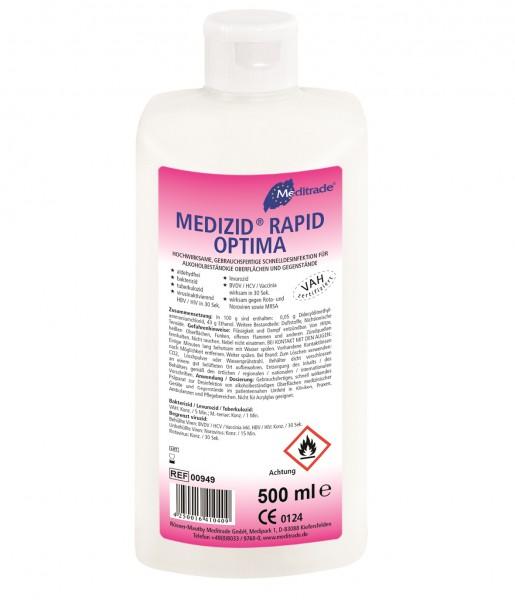 Medizid® Rapid Optima Schnelldesinfektion, 500 ml