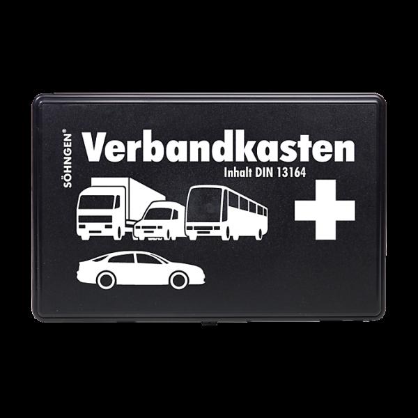 SÖHNGEN KFZ-Verbandkasten KU schwarz mit Füllung Standard DIN 13164