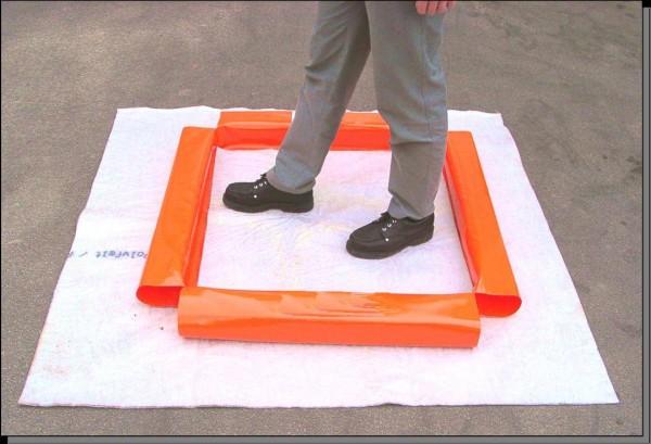QUICK-DEKON Fußdesinfektionswanne 1,00 x 1,00 m