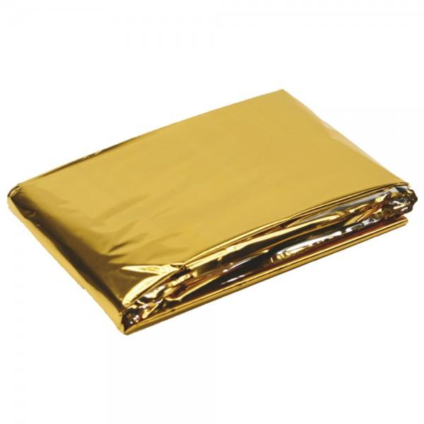 DÖNGES Rettungsdecke Gold/Silber