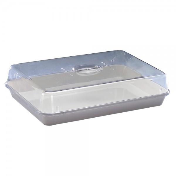 DÖNGES Frischhaltebox, 356 x 247 x 85 mm, Schale mit Deckel