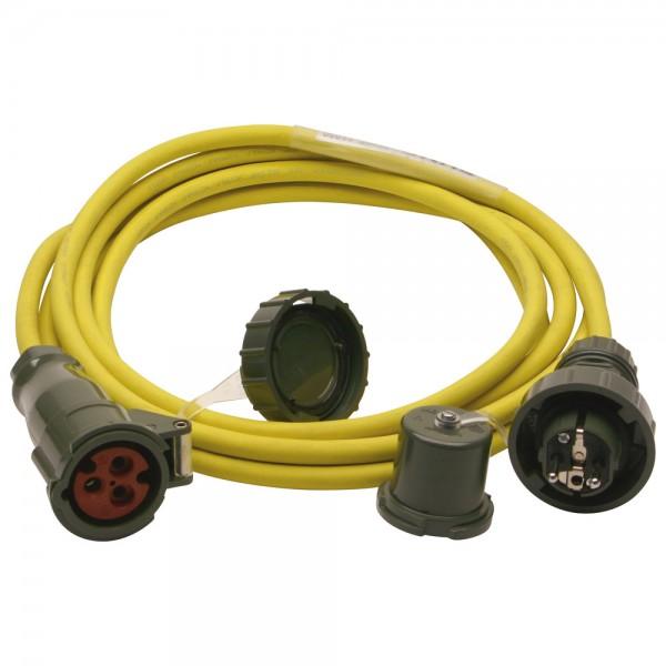 DÖNGES Fahrzeuganschluss-Adapterkabel THW-Version, 5 m
