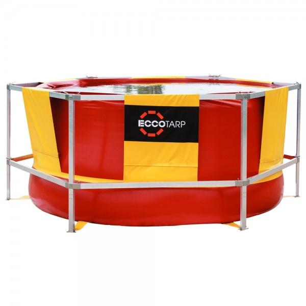 ECCOTARP Großvolumenbehälter mit Gerüst