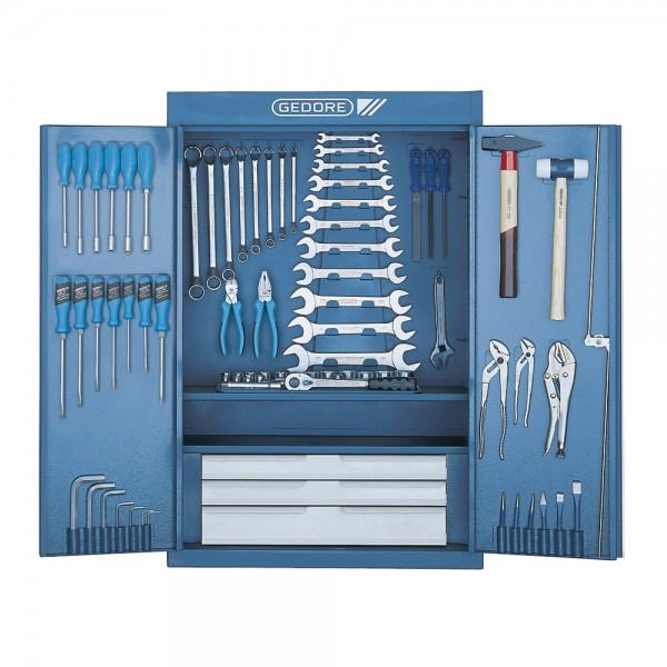 GEDORE Werkzeugschrank, leer, 650 x 250 x 970 mm