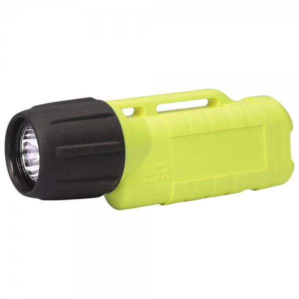 UK Helmlampe 2AA Zone 2 eLED, ET Heckschalter, neongelb