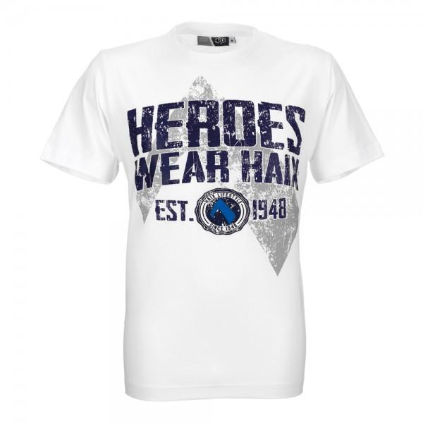 HAIX T-Shirt HEROES Unisex weiß