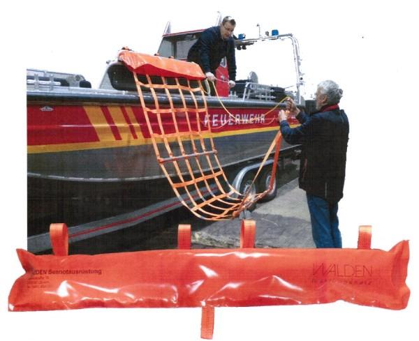 WALDEN Rettungsnetz für Arbeits- und Rettungsboote