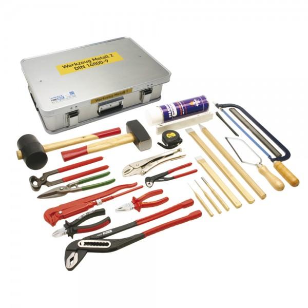 DÖNGES Werkzeugkasten Metall 2 DIN 14800-WKM 2, komplett in Dönges Firebox