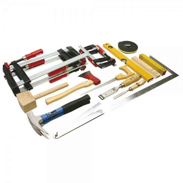 DÖNGES Werkzeugsatz Holz DIN 14800-WKH, Werkzeugsatz ohne Kasten