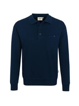HAKRO 457 Sweat-Shirt 300g Brusttasche 70/30%, 60°