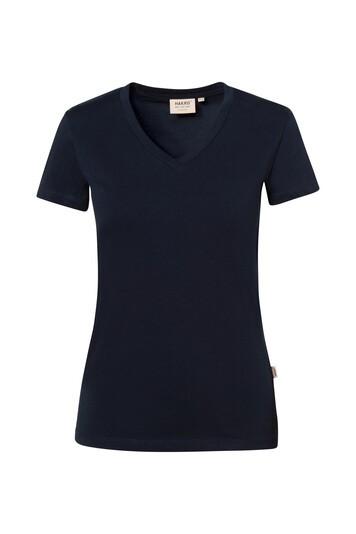 HAKRO 172 Damen V-Shirt Stretch 170 g 50/50%, 40°