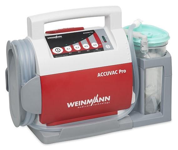 WEINMANN ACCUVAC Pro Einwegbehältersystem