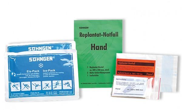 Replantat-Notfallset Hand - Arm - Bein