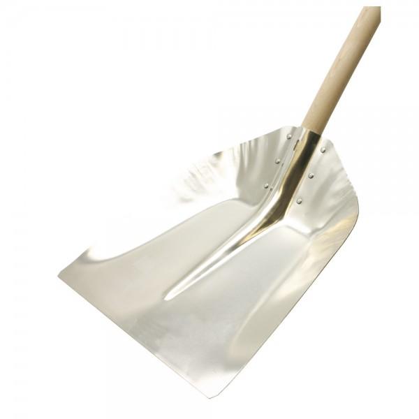 DÖNGES Randschaufel aus Leichtmetall, Blattgröße 380 x 380 mm