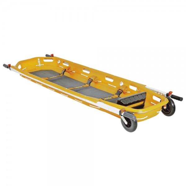 SPENCER Korbtrage Dakar, einteilig, mit Rollen, 224 x 64 x 19 cm