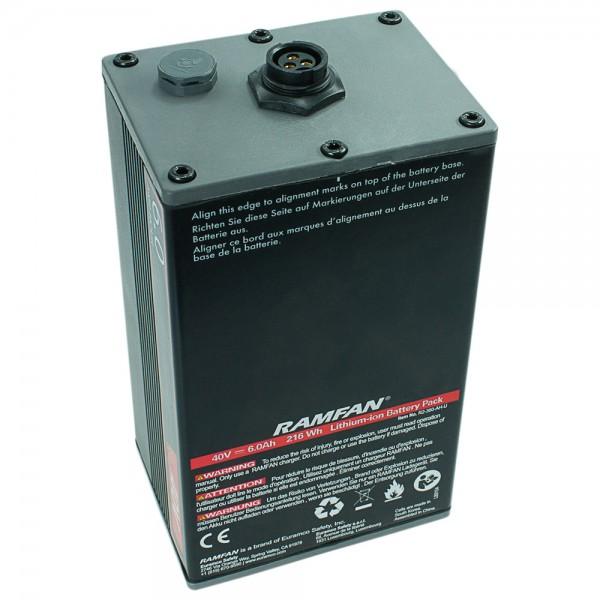 RAMFAN Ersatzakku 40 V, 6 Ah für EX50Li