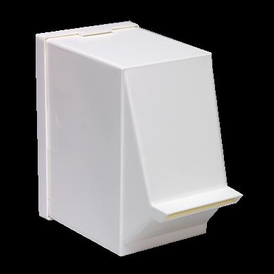 Kunststoff-Spendebox für Tupfer