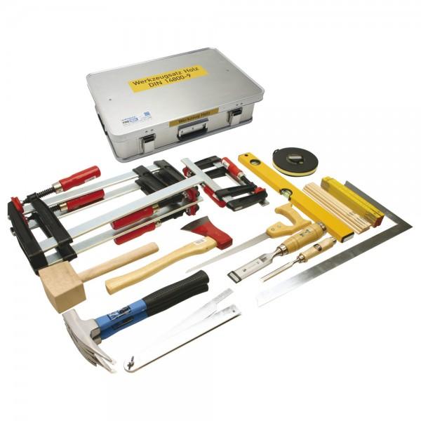 DÖNGES Werkzeugkasten Holz DIN 14800-WKH, 600 x 400 x 150 mm