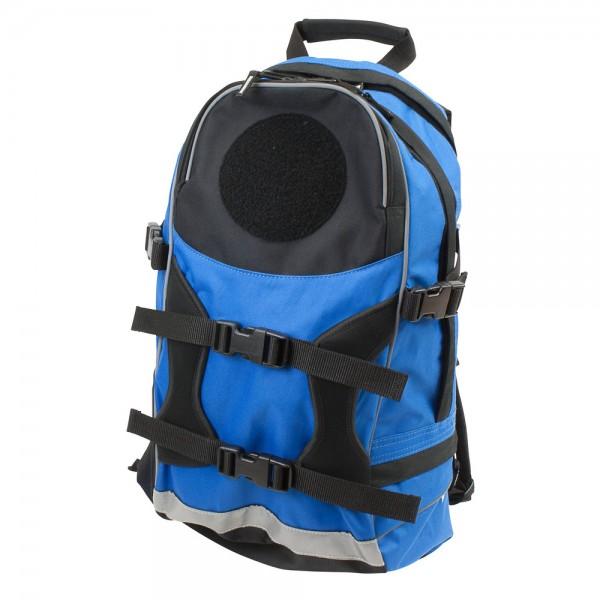 DÖNGES Freizeit-Rucksack mit Flauschfläche, blau, ohne Klettpatch