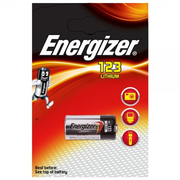 ENERGIZER Lithium Batterie, CR123, 3 V