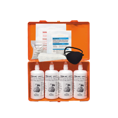 AquaNit-Box 4 x 250 ml Augen-Sofortspülung