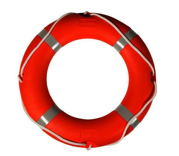 Rettungsring aus Hartplastik SOLAS/MED-Zulassung