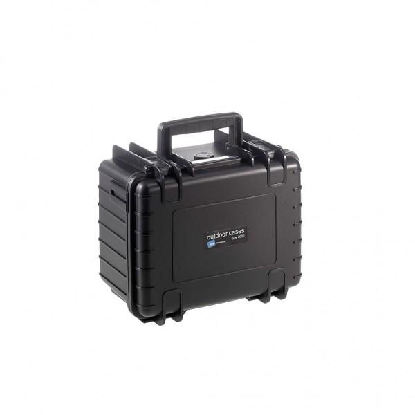 B+W outdoor cases Type 2000, 270x215x165 mm