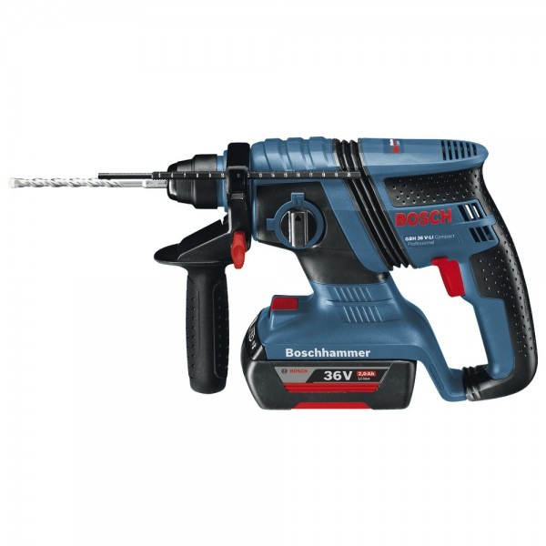 BOSCH Akku-Bohrhammer Compact GBH 36 V-LI
