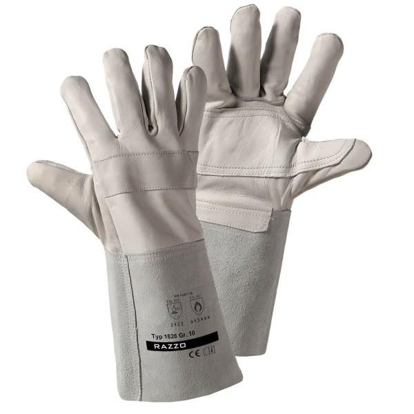 Lederschutz Handschuh EN 12477-A-Cat.3