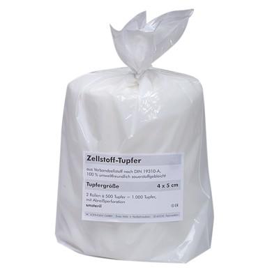 Zellstoff-Tupfer