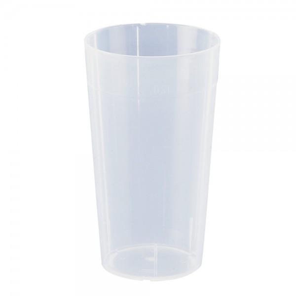DÖNGES Becher, Trinkbecher, 300 ml, PP/transparent