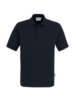 HAKRO 802 Polo-Shirt 200g Brusttasche 100% BW., 60°