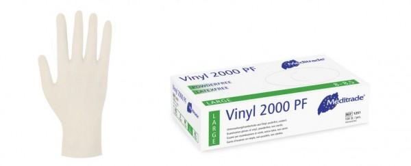 MEDITRADE Vinyl-Untersuchungshandschuh 2000 PF