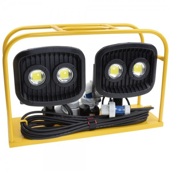 Scheinwerfercontainer-Set, 2 x 60 W LED