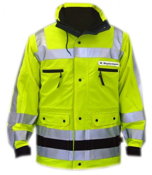 PFITZNER HALOGEN Jacke leuchtgelb DIN EN ISO 20471 Klasse 3
