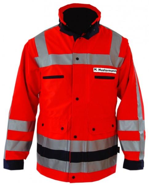 PFITZNER HALOGEN Jacke leuchtrot DIN EN ISO 20471 Klasse 3